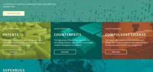 Situs medicamentalia.org yang dibuat Civio asal Prancis. (Ist)